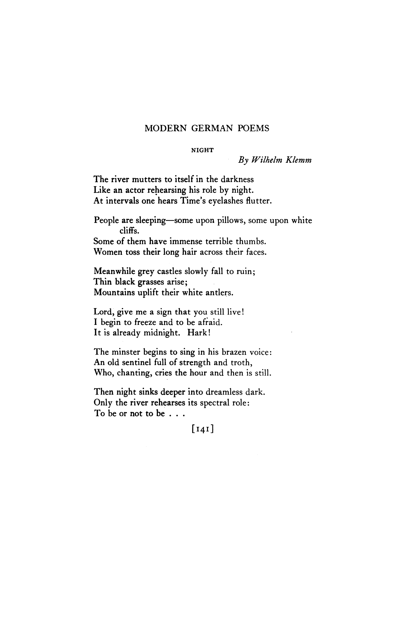 Poems about the fall of modern poets 59