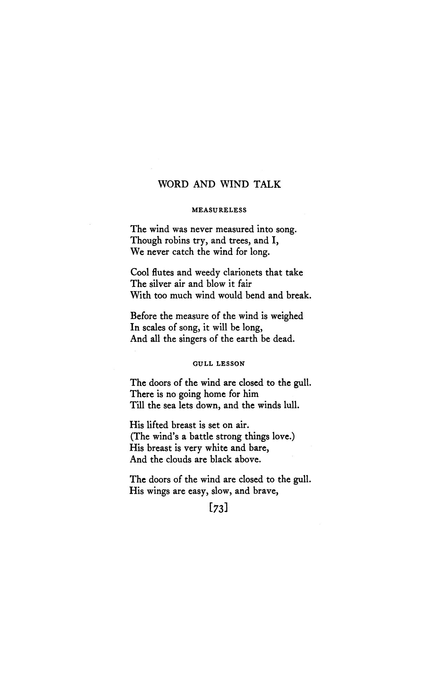 Clouds of Wings Poems
