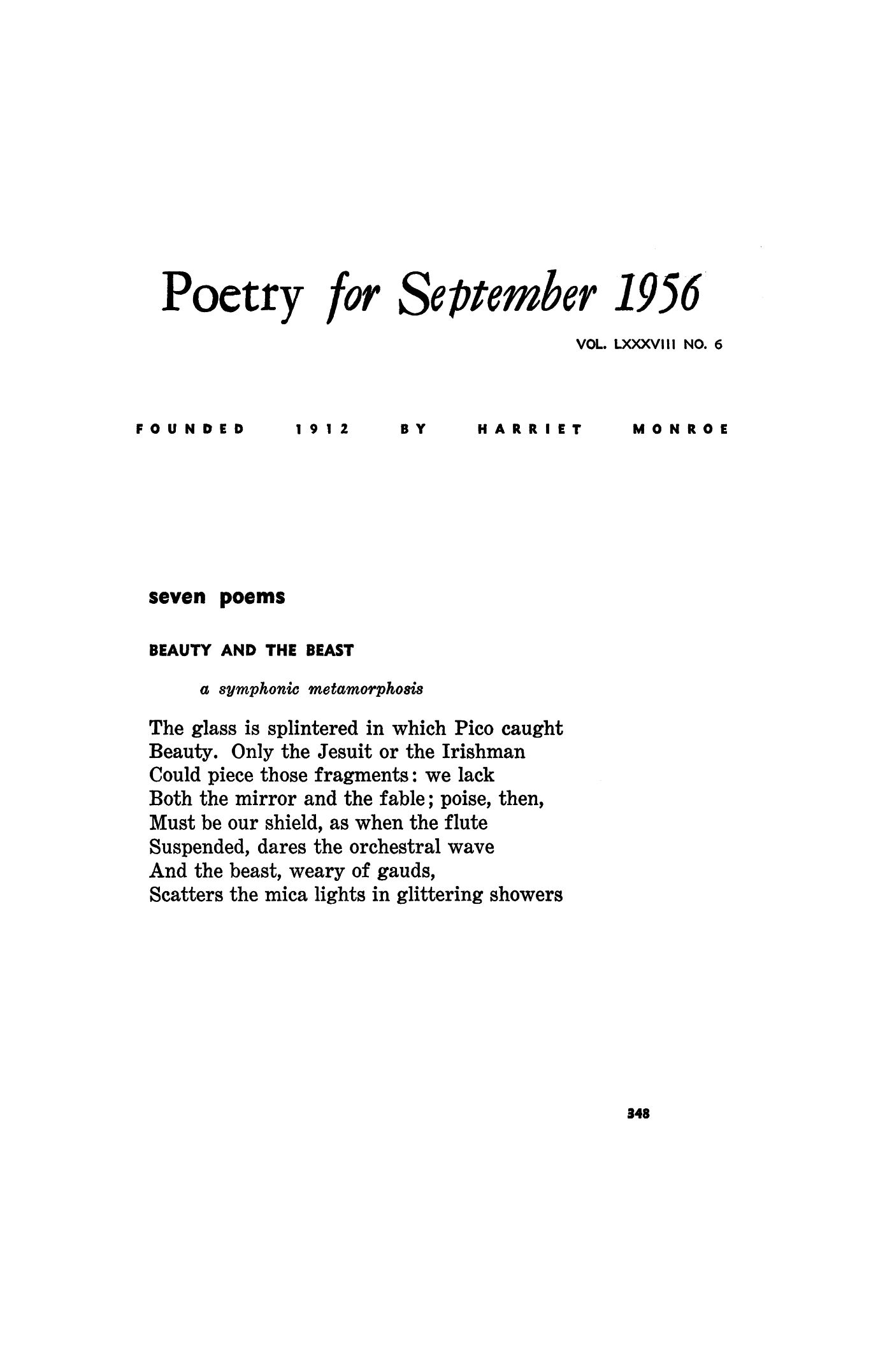 Poems about September 85