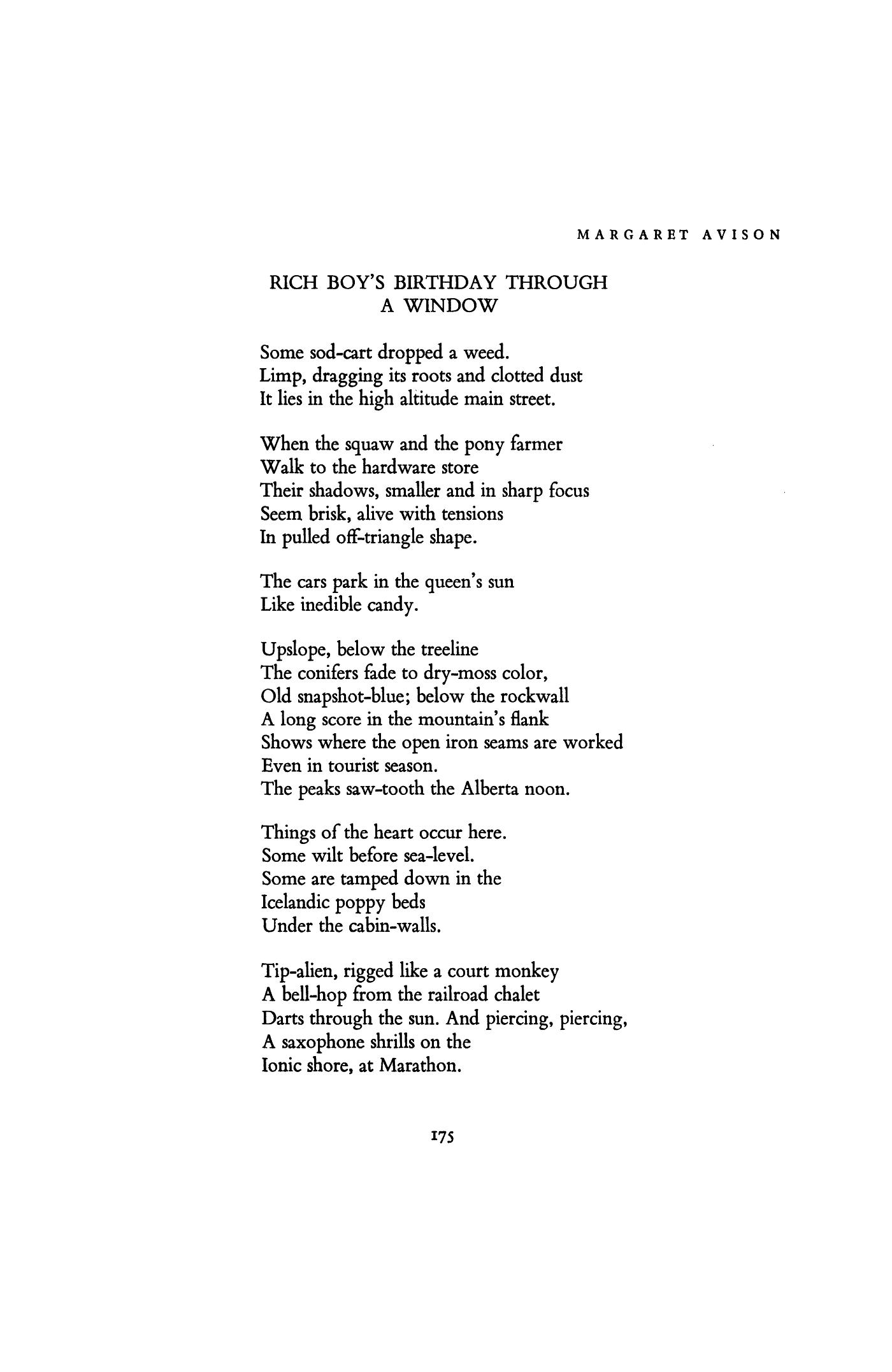 walking through walls poem