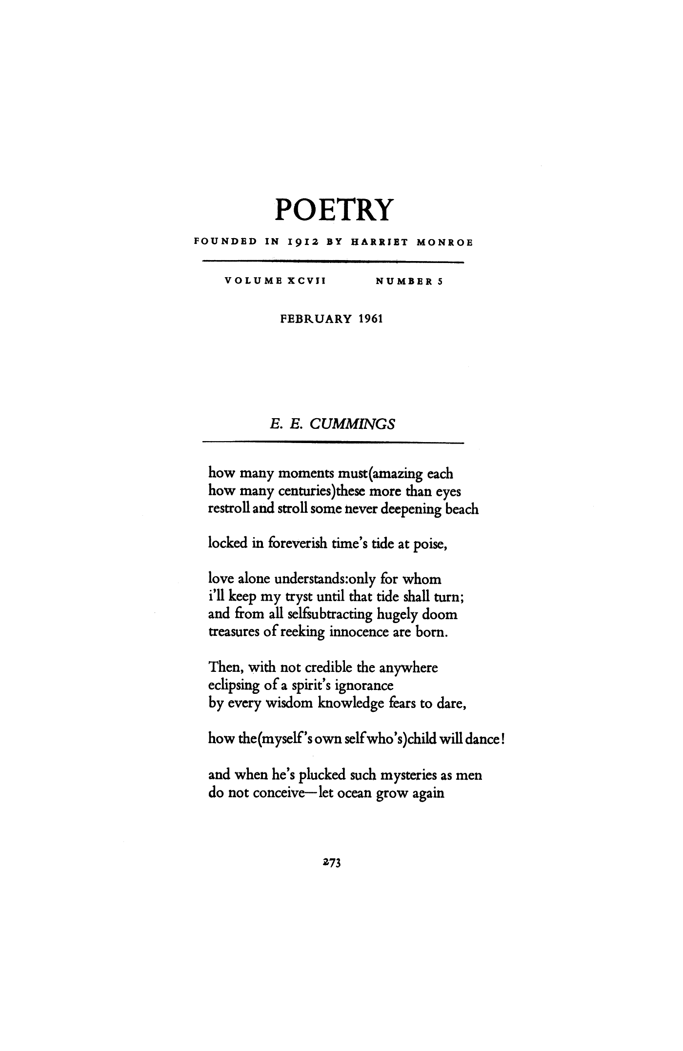 e e cummings a brief critique english edition