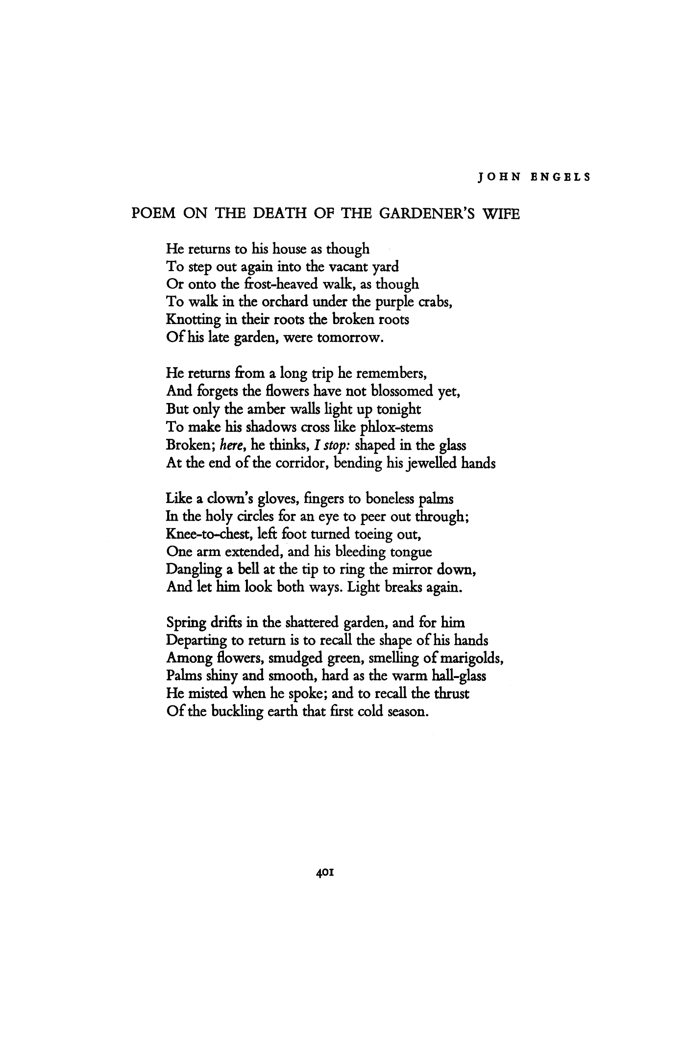 the march of death poem
