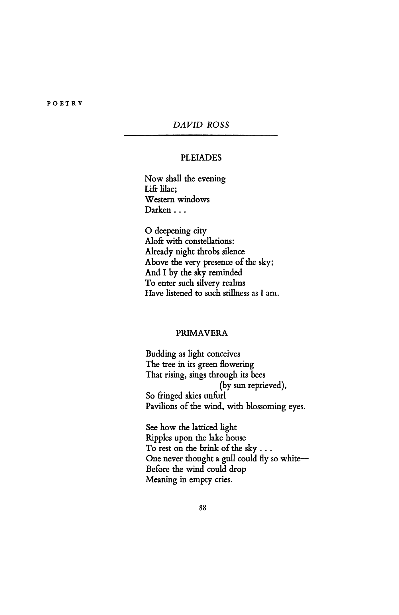 House Of The Rising Poetry