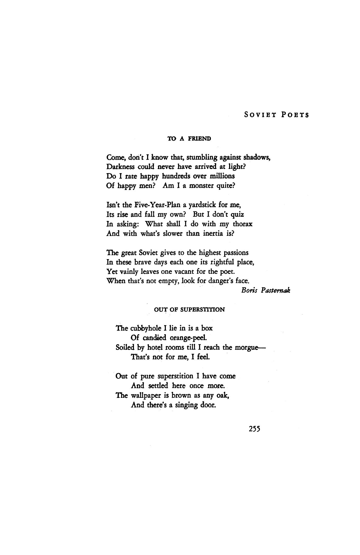 Poem by Boris Pasternak 88