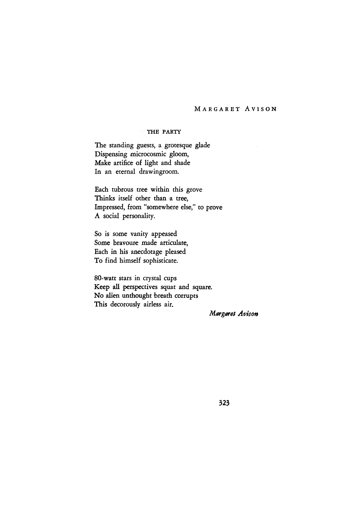 Margaret Avison poetry prize
