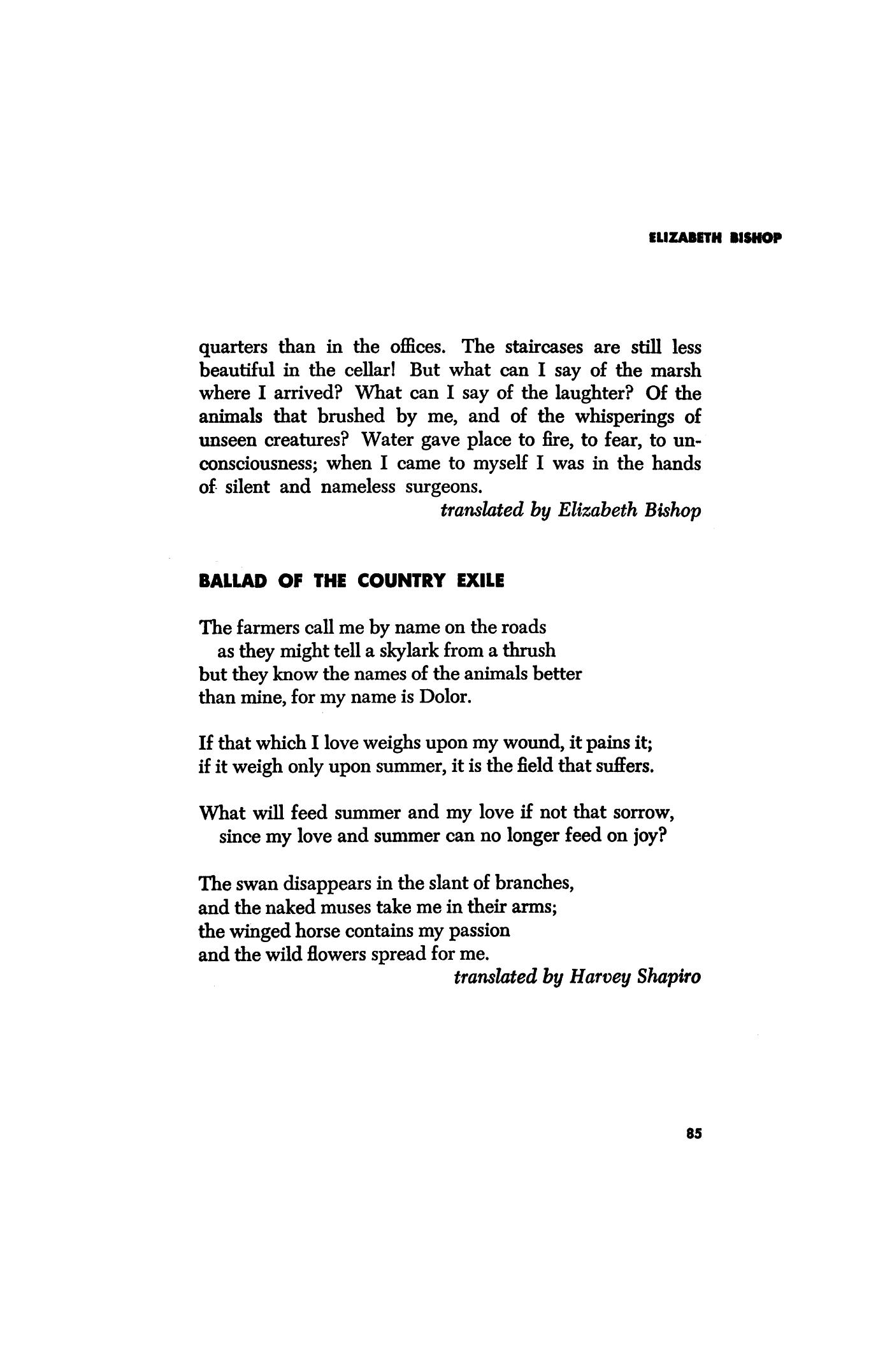 dolor poem