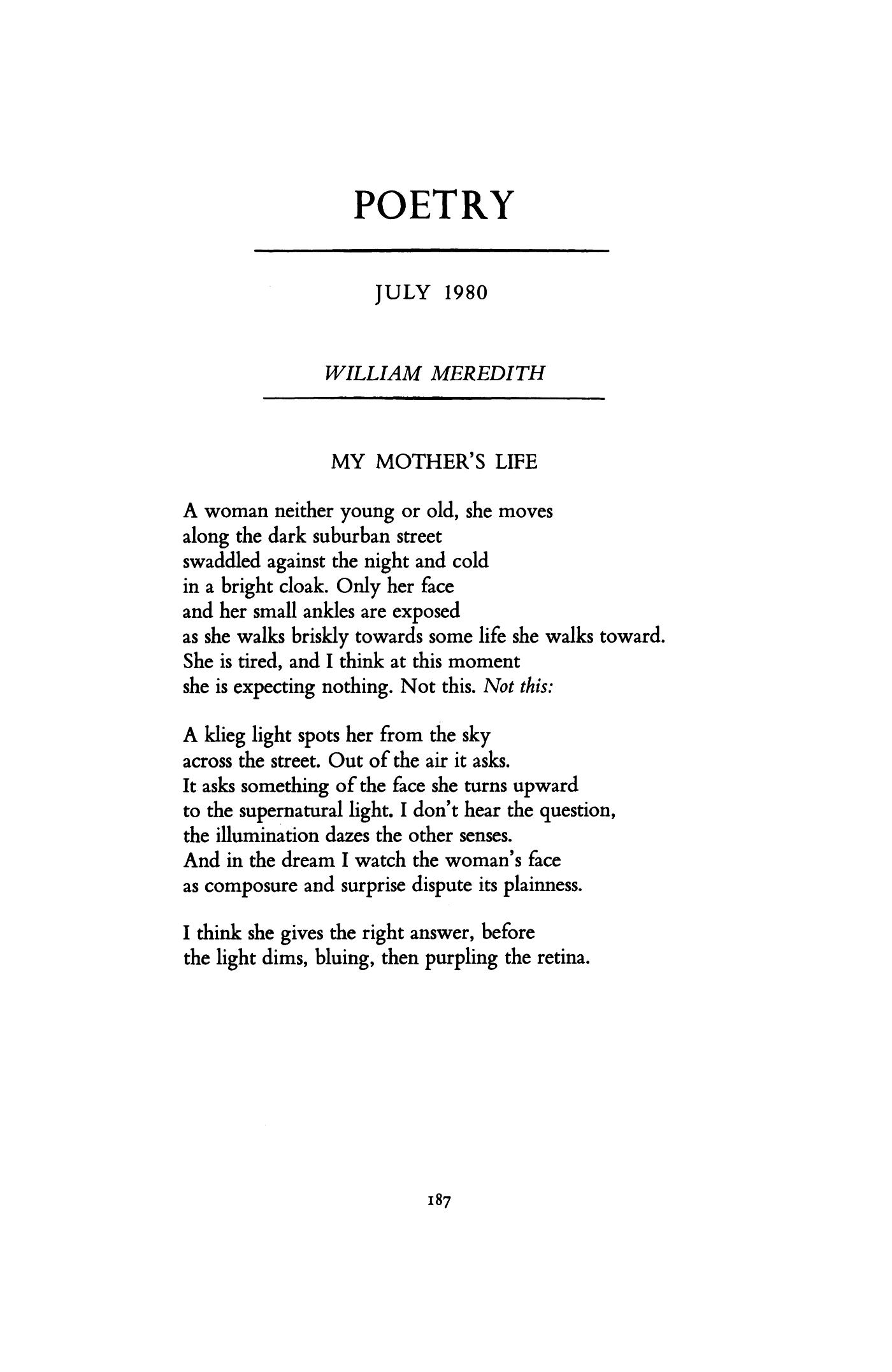 william street poem