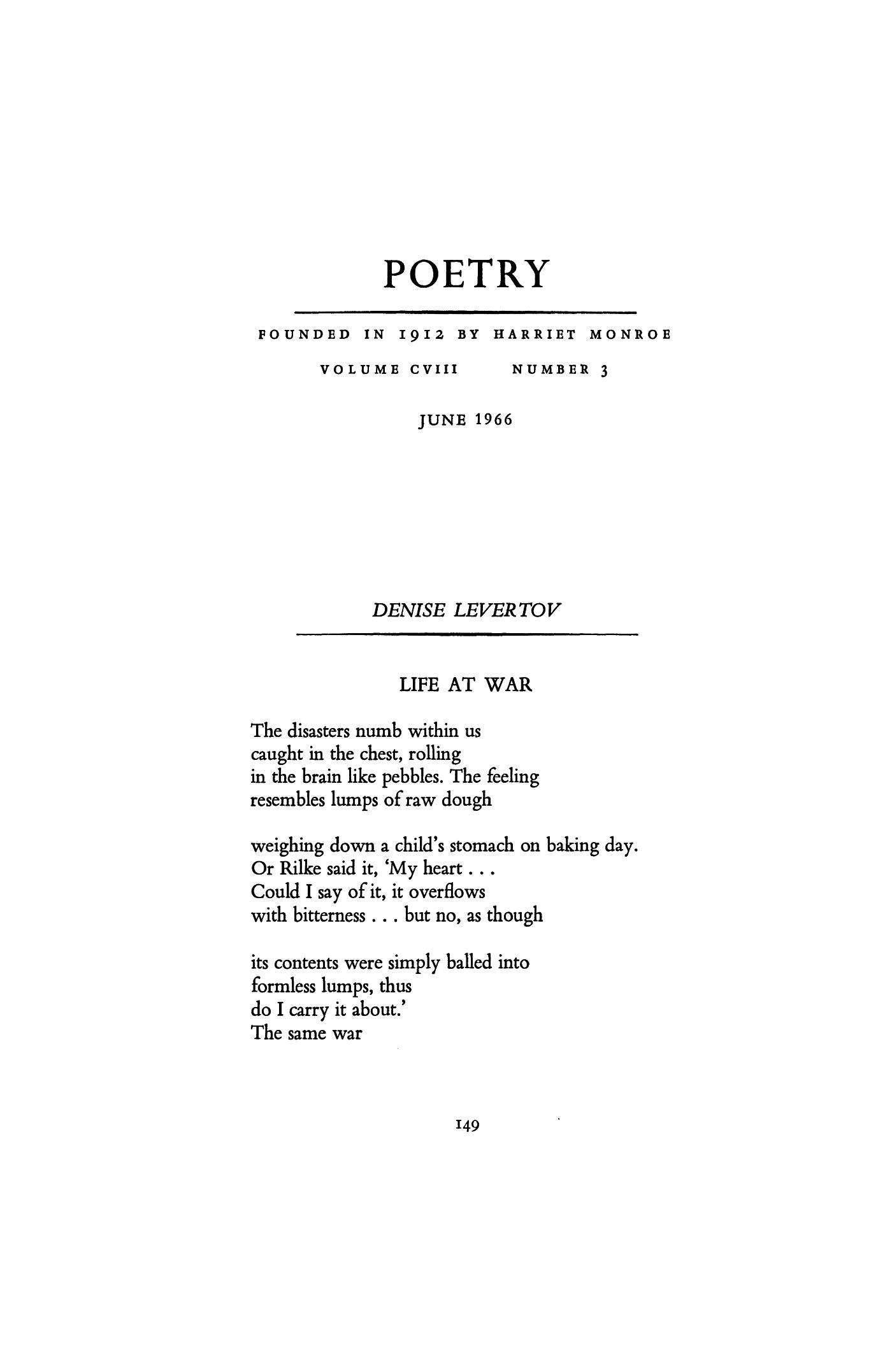 59 war poems