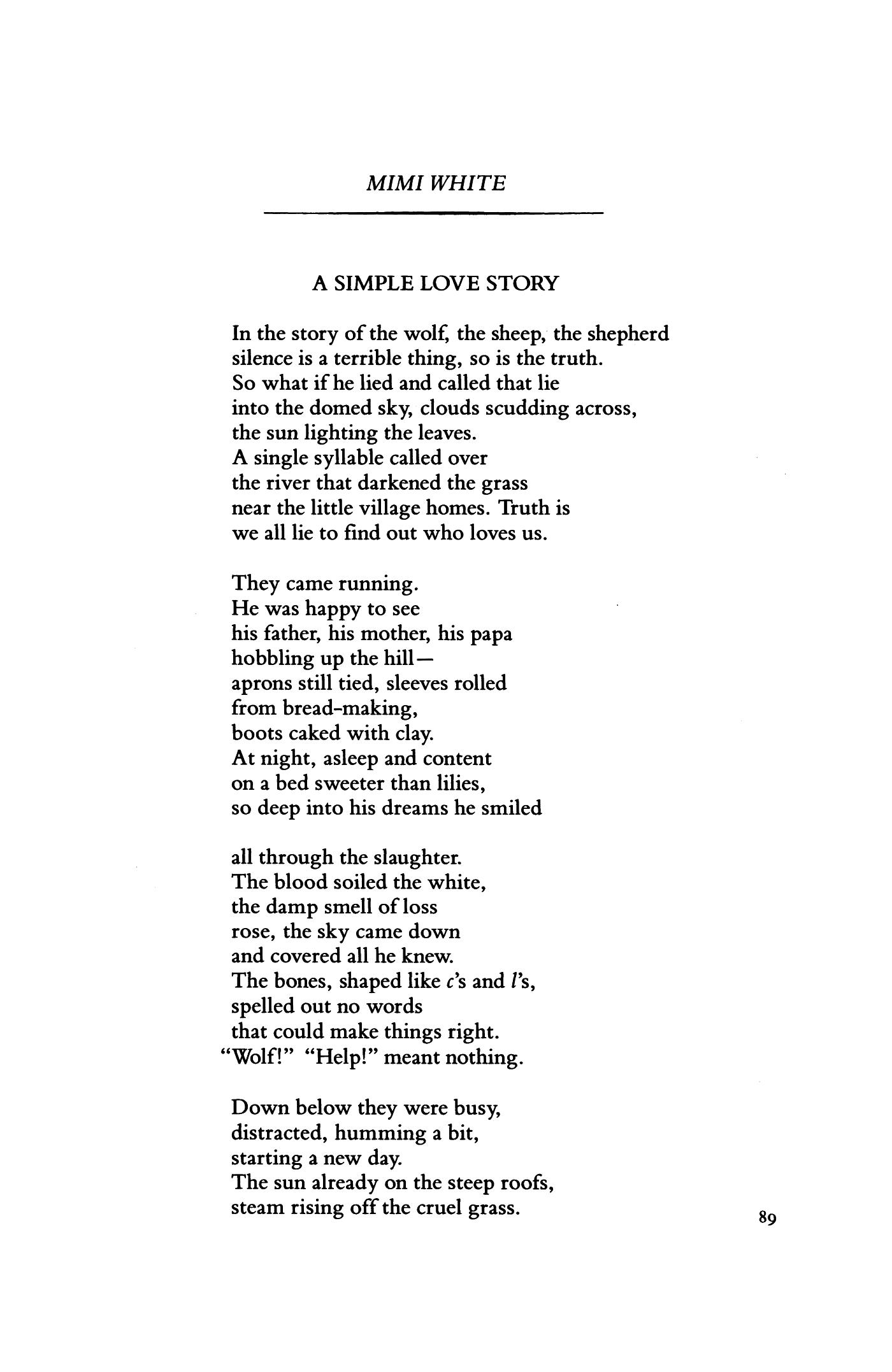 Deep love stories