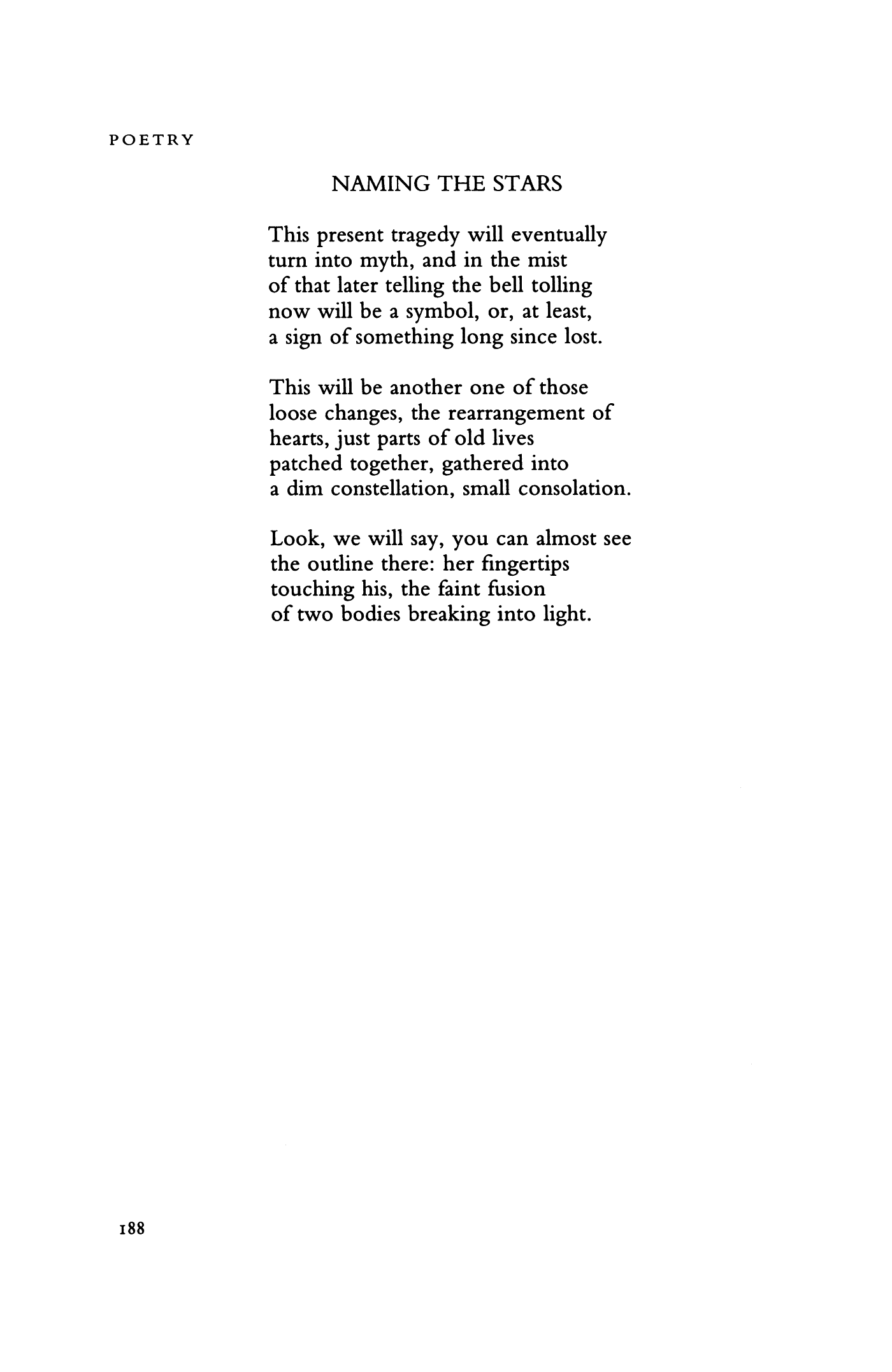poem about stars