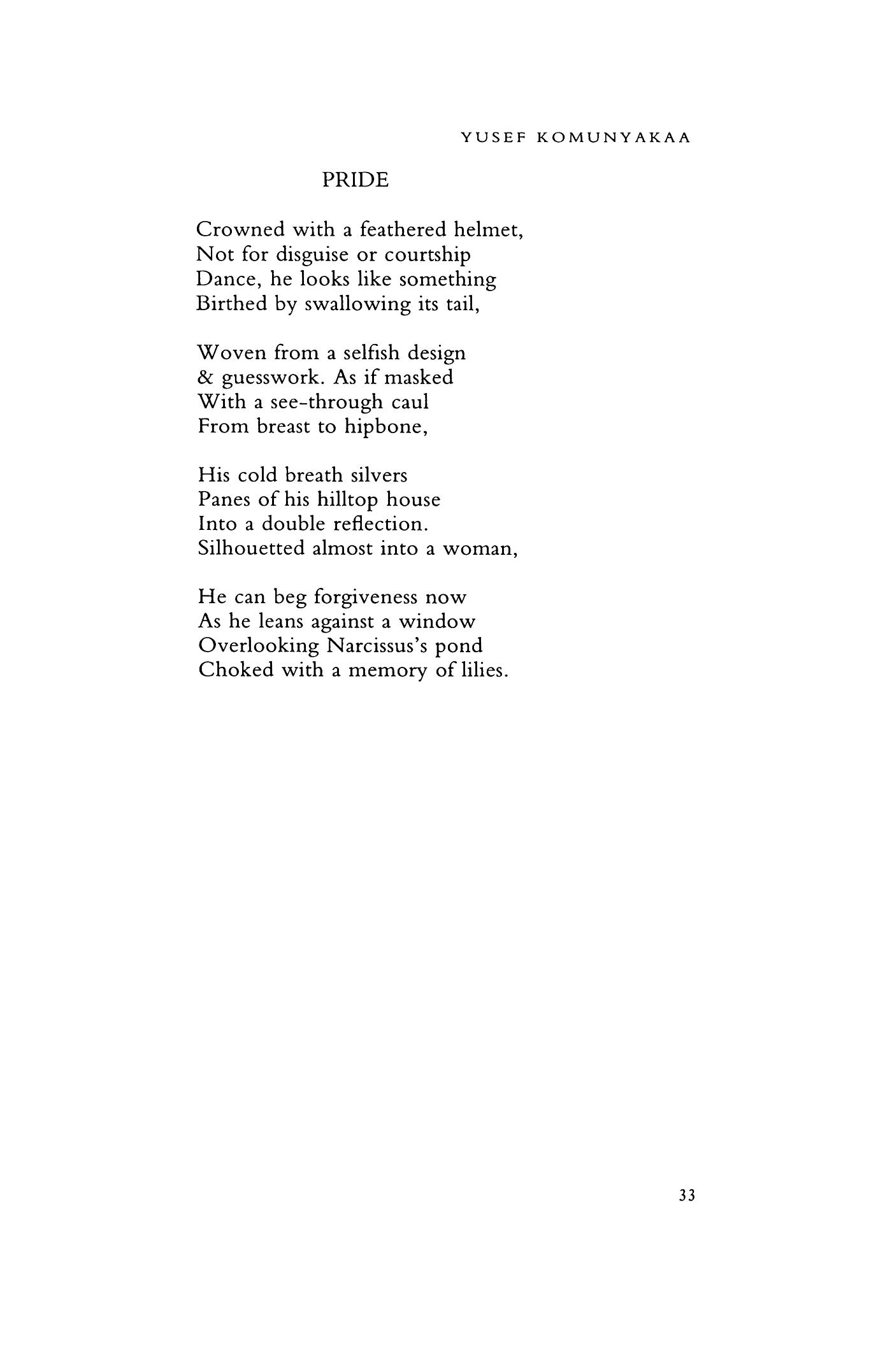 pride by yusef komunyakaa poetry magazine