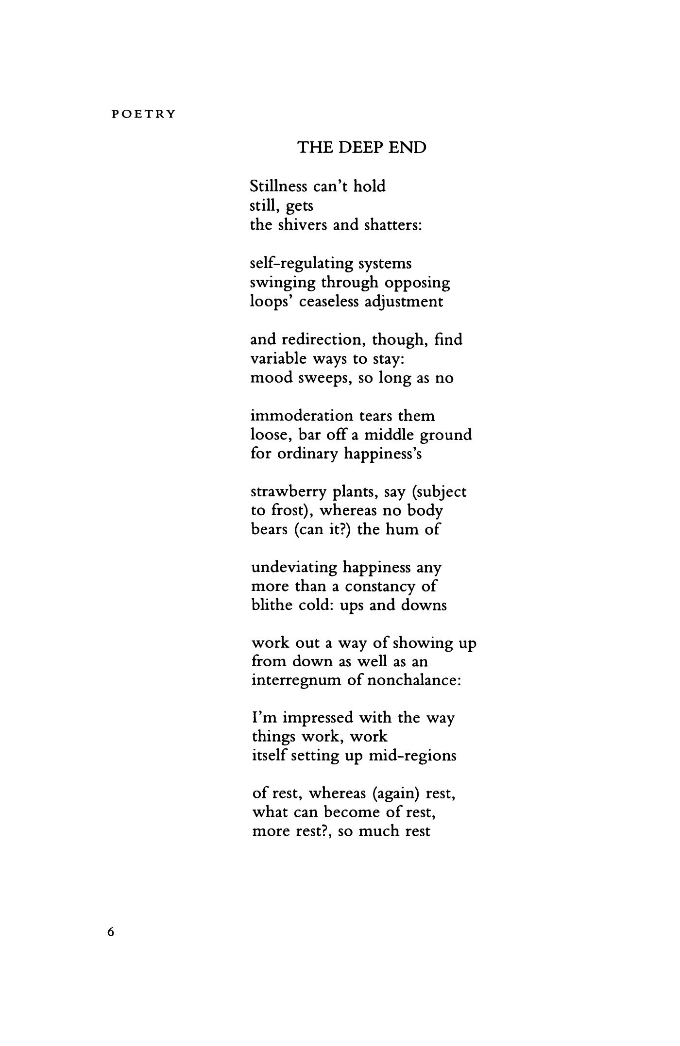 how do you end a poem