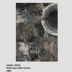 Jasper Johns, Grey (Hart Crane)