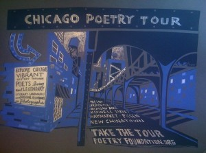 Chicago Poetry Tour (poster by Kathleen Judge)