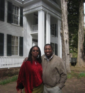 Two poets at Faulkner's pad (Dungy and Jackson in Oxford, MS)