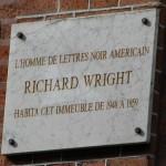 Richard Wright's plaque