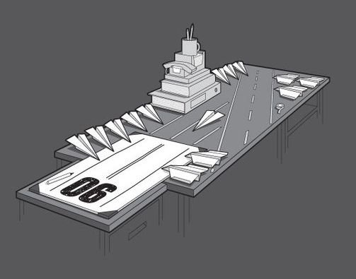 Tabletop Aircraft Carrier
