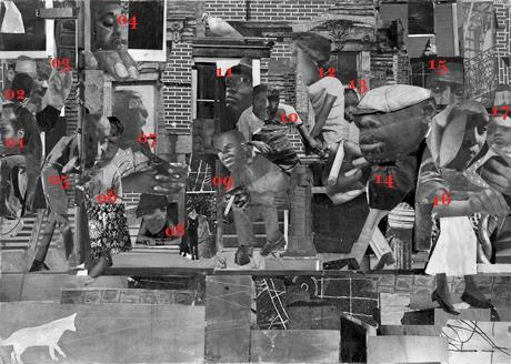 The Dove_Romare Bearden_Legend