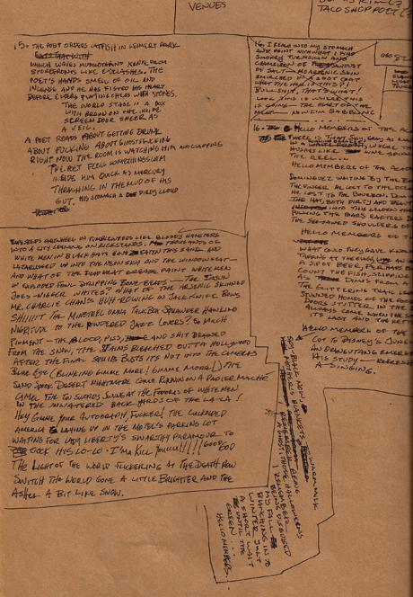 "Journal draft of ""The Poet Writes the Poem…"""