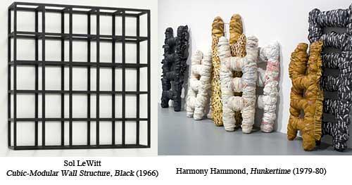 Sol LeWitt / Harmony Hammond, Grid and Soft Grid