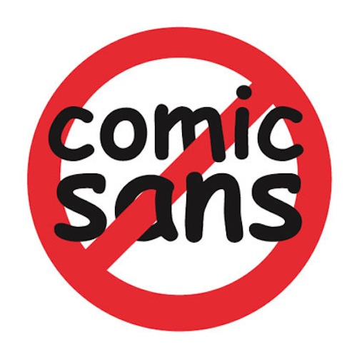 Comic Sans is the most hated font in the world
