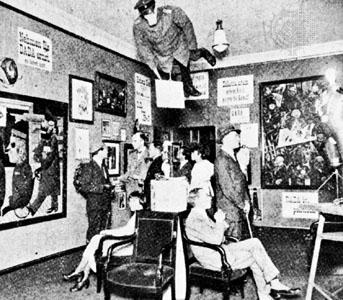 First International Dada Fair, Berlin, 1920.Credit: Courtesy of Hannah Hoch