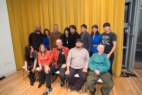 Symposium participants. Photo by Arnold Adler.