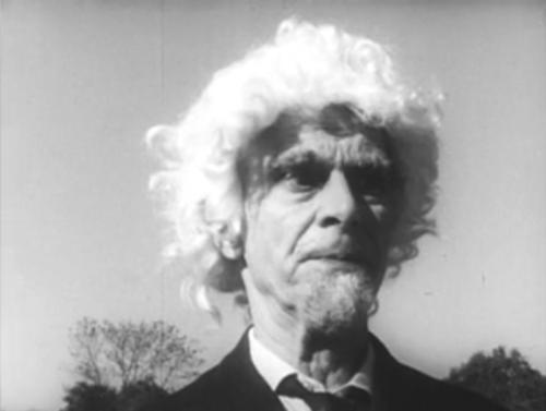 Edwin Denby in Rudy Burckhardt's Lurk, 1964