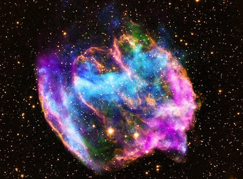 Supernova remnant from NASA's Chandra x-ray observatory