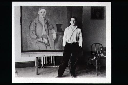 Rudy Burckhardt, Bill de Kooning on 22nd Street , 1938