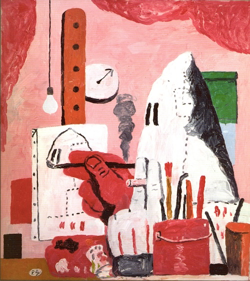 Philip Guston, The Studio, oil on canvas, 1969., 48 x 42 in. Collection: Musa Guston.
