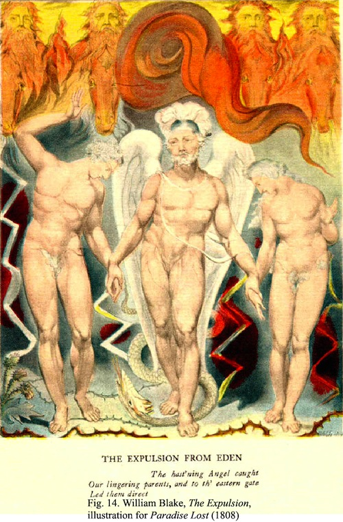 Book XII of William Blake's 1808 Paradise Lost.