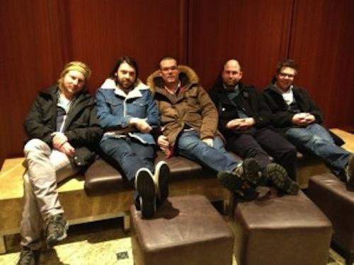 Birds LLC editors, Dan Boehl, Sampson Starkweather, Chris Tonelli, Justin Marks, and Matt Rasmussen