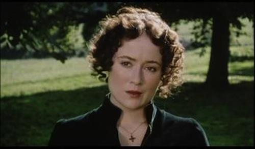 Jennifer Ehle as Elizabeth Bennet.