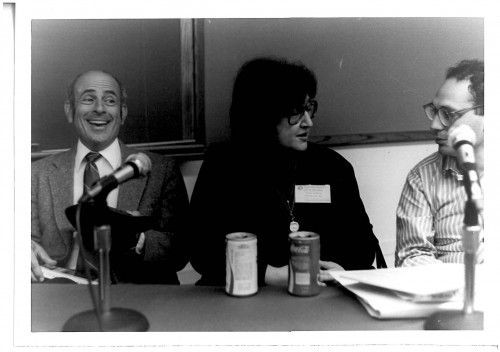 Louis Simpson, Helen Vendler, & Charles Bernstein in Alabama, Oct. 1984