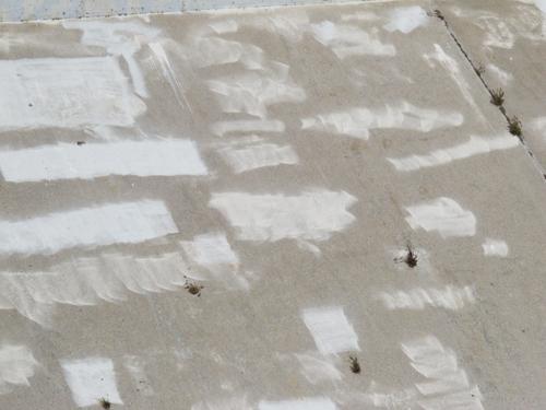 Ungraffiti closeup