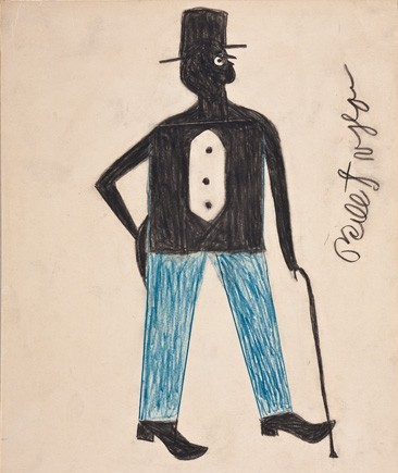 Bill Traylor, Man with Cane