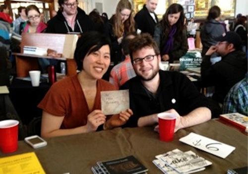Sueyeun Juliette Lee and Ian Davisson from Corollary Press.