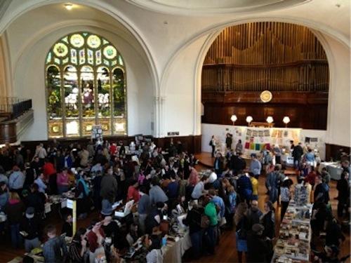 Karpeles Manuscript Library Museum day of the book fair