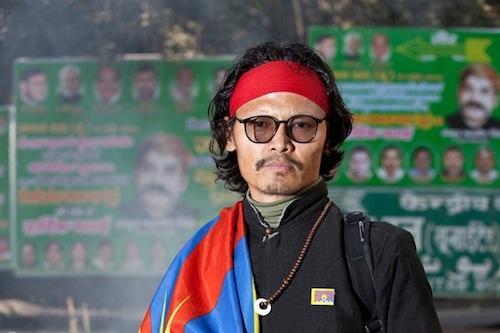 Poet Tenzin Tsundue