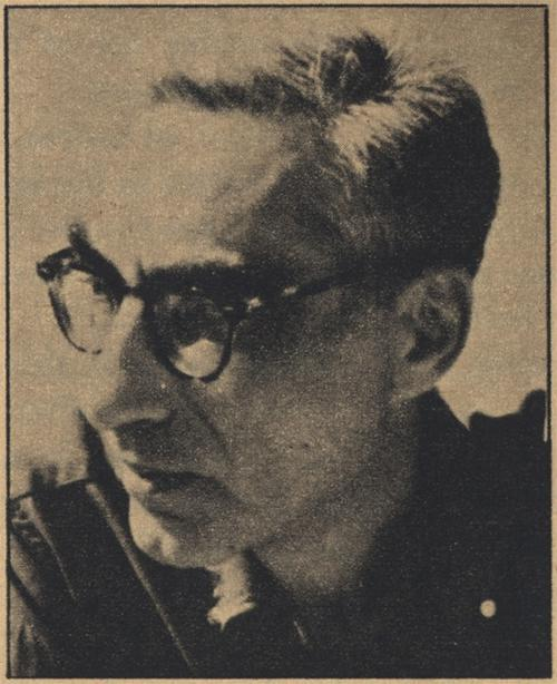 Louis Zukofsky, press image from the Poetry archives.