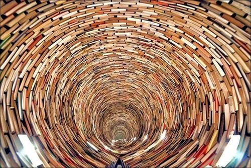 Endless Tunnel of books2
