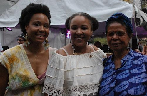 Karma Mayet Johnson, LaT, Jayne Cortez, Lincoln Center Out of Doors, 2009