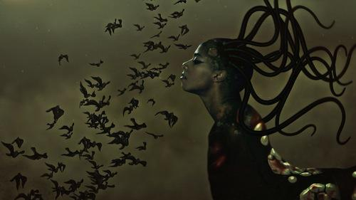 Wangechi Mutu, The End of eating Everything (still), 2013. Animated video (color, sound), 8 minutes 10 seconds. Image Courtesy of the Artist.