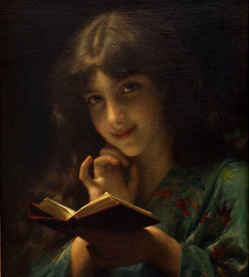 ori_903-14456-TL133-19th-C-Artist-Adolphe-Piot-Young-Girl-Reading-A-Book-Excellent-Condition-http-www-equinoxantiques-com-inventory-TL133-lg