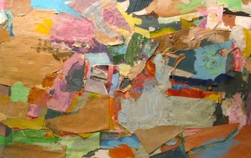 George Stanley, perhaps the only large scale collage extant,