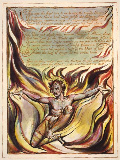 America a Prophecy, Plate 10