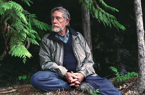 Gary Snyder, July 2002. Photo by John Suiter.