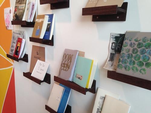 Books by poet/collagist contributors.