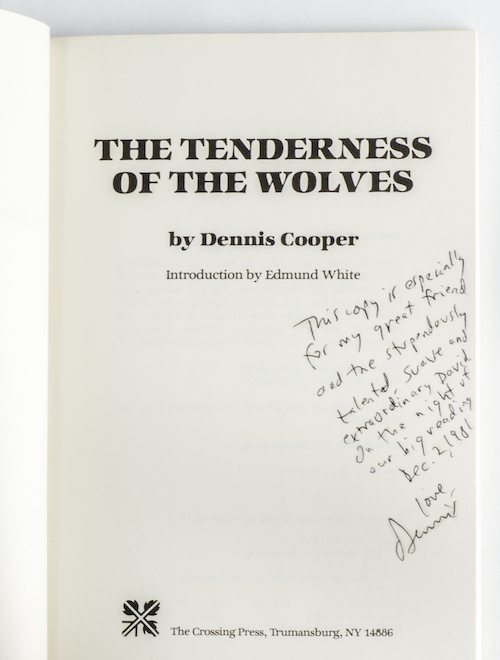 6.Tenderness of the Wolves with signature